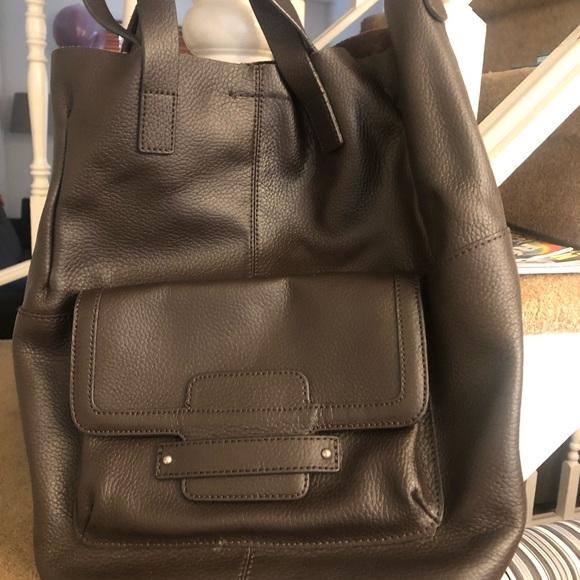 BANANA REPUBLIC brown bag